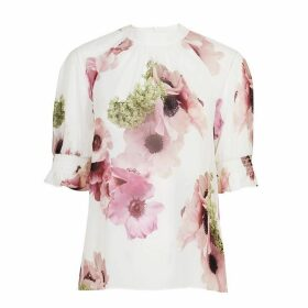 Ted Baker Cayliee Neopolitan Puff Sleeve Top