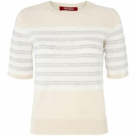 Max Mara Studio Gerusia crew neck long sleeve sweater