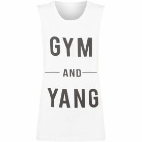 Dharma Bums Gym and yang tank top