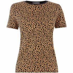 Warehouse Cheetah Print Tee