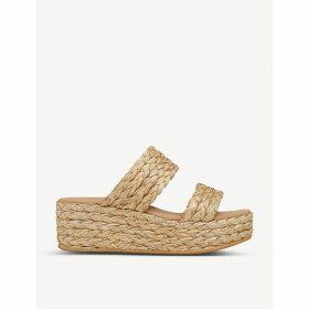 Willa raffia flatform sandals