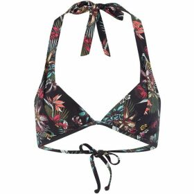 ONeill Print moulded halter top