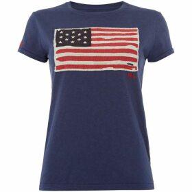 Polo Ralph Lauren Short Sleeve Flag T-shirt