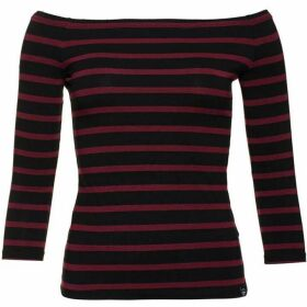 Superdry Stripe Bardot Top