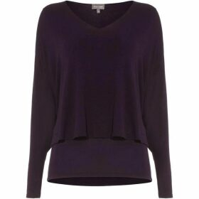 Phase Eight Shona Split Sleeve Top