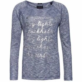 Superdry Foil Graphic Knit Top