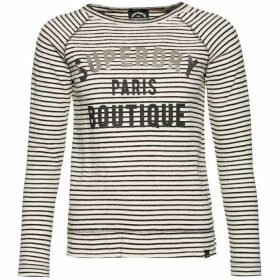 Superdry Amour Stripe Graphic Top