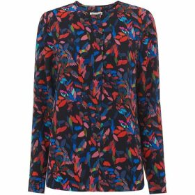 Whistles Jerry Silk Mari Print Top