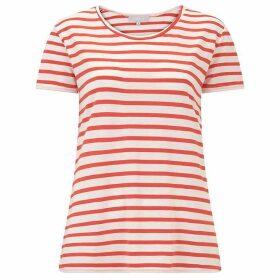 Havren Lisa Red Stripe Tee Shirt