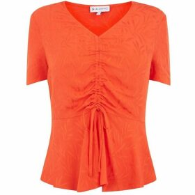Warehouse Fern Jacquard Top