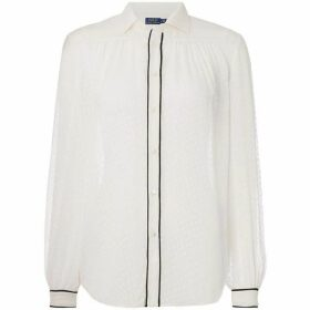 Polo Ralph Lauren Textured Silk Shirt