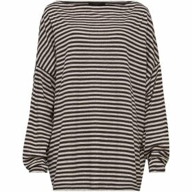 All Saints Rita Ls Stripe Tee