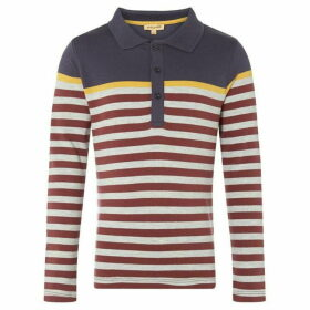 Rock and Wilde WREN PO LS STRIPE POLO