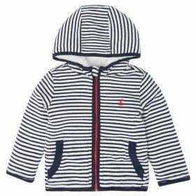 Little Joule James Striped Zip Thru Hoodie