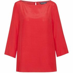 Tommy Hilfiger Kandice Boat Neck Blouse