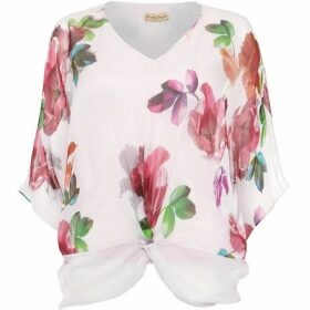 Phase Eight Adelle Floral Silk Blouse