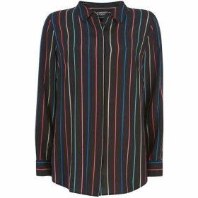 Mint Velvet Black Multi Striped Blouse