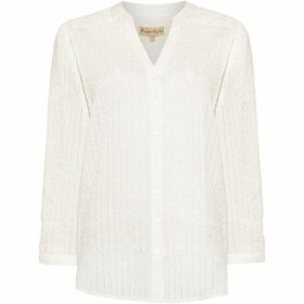 Phase Eight Naya Textured Stripe Blouse