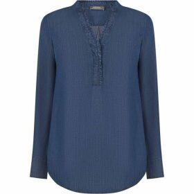 Oasis Frill ruffle blouse