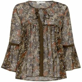 Maison De Nimes DITSY PRINTED GYPSY BLOUSE