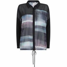 Mint Velvet Kacie Print Drawstring Shirt