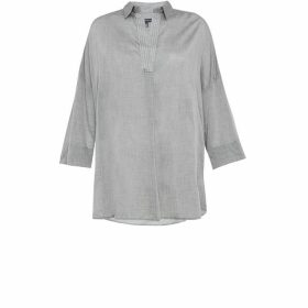 French Connection Jacinda Cotton Pop Over Shirt