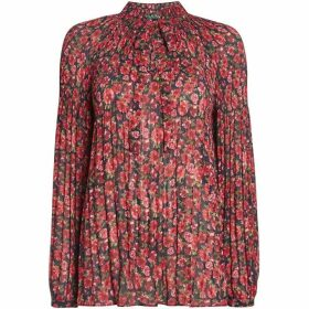 Lauren Duong long sleeve printed shirt