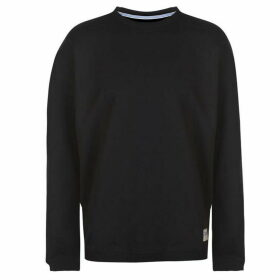 Lee Jeans Lee Logo Patch Crew Sweater Mens