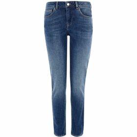 Karen Millen Mid-Wash Jeans