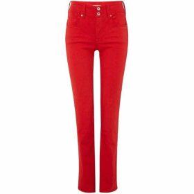 Salsa Push In Secret Slim Jeans In Red