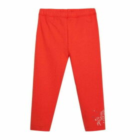 3 Pommes Baby Girl Red Corsair Cropped Trousers