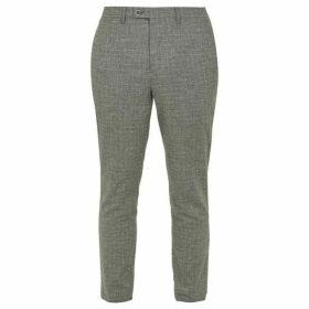 Ted Baker Zoltro Cross Hatch Wool Trousers