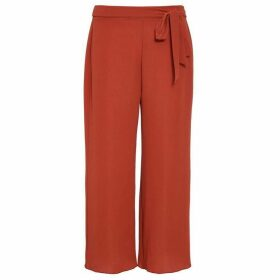 Quiz Rust Crepe Culotte Trousers