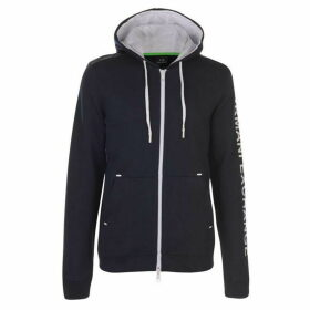 Armani Exchange Armani Arm Logo Zip Hoodie