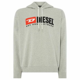 Diesel Hate Couture `Not Cool Anymore` Overhead Hoodie