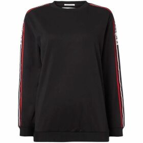 Replay Technical Sweatshirt Logoed Stripe