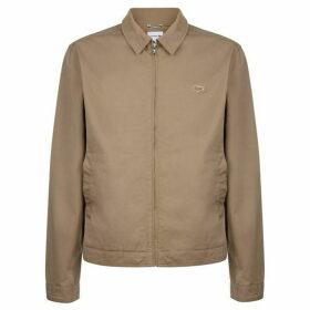 Lacoste Short Zip Stretch Cotton Twill Jacket