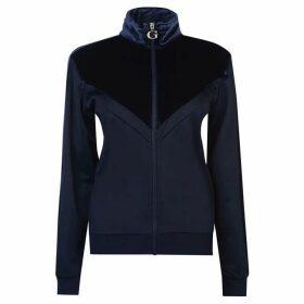 Guess Velvet Zip Jacket