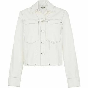 Whistles Contrast Stitch Denim Jacket