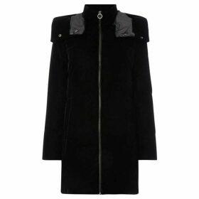 MICHAEL Michael Kors Velvet long puffer coat