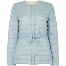 Max Mara Weekend Giacomo collarless quilted jacket
