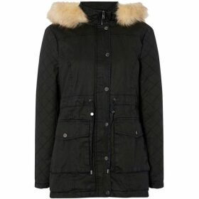 Maison De Nimes Waxed fur jacket