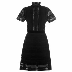 Perseverance Cable Lace Mini Dress