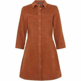 French Connection Jens Western Baby Cord Dress