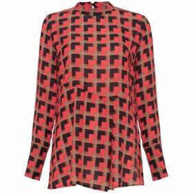 Damsel in a Dress Salina Print Blouse