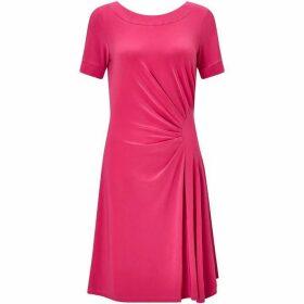 James Lakeland Black V Neck Dress