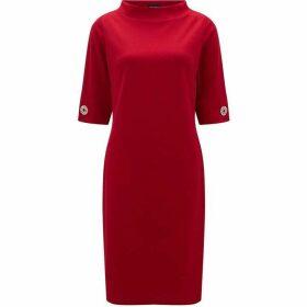 James Lakeland three quarter Sleeve Strass Dress