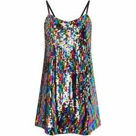 Vero Moda Sequin Strappy Mini Dress