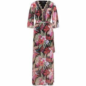 James Lakeland Floral Print Maxi Dress