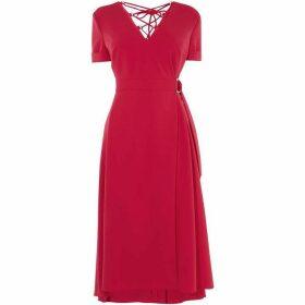 Karen Millen Strappy Back Midi Dress